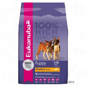 Eukanuba Puppy&Junior Medium Breed 3 kg