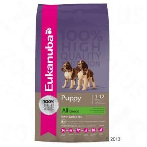 Eukanuba Puppy & Junior Lamb & Rice - 2 x 12 kg