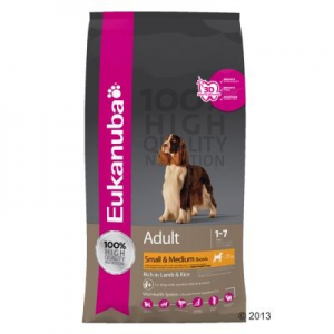 Eukanuba Adult Medium Breeds Lamb & Rice - 2 x 12 kg
