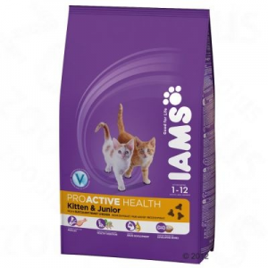 IAMS Kitten & Junior Csirkés 10 kg