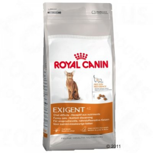 Royal Canin Exigent 42 - válogatós macskáknak - 2 x 10 kg