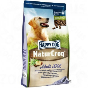 Interquell Happy Dog Natur-Croq XXL kutyatáp - 2 x 15 kg