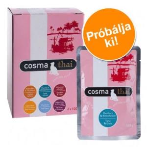 Cosma Thai frisstasakok - vegyes próbacsomag - 6 x 100 g - 6 különböző ízben