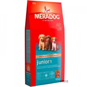 Mera Dog Junior 1 kölyöktáp - 2 x 12,5 kg
