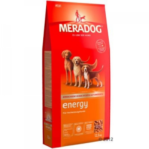 Mera Dog Energy kutyatáp - 2 x 12,5 kg