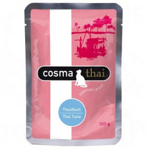Cosma Thai tasakos 6 x 100 g - Csirke & tonhal