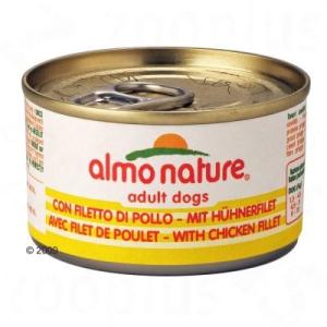 Almo Nature 6 x 95 g - csirkefilé