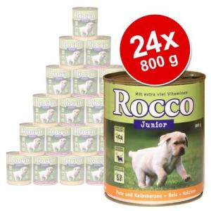 MATINA Junior óriáscsomag 24 x 800 g - szárnyas & vad & rizs + kalcium