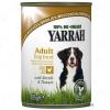 Yarrah Bio falatok csirke & csalán & paradicsom, mártásban - 6 x 820 g