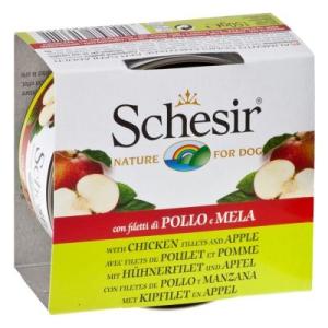 Schesir Fruit 6 x 150 g - csirke & alma