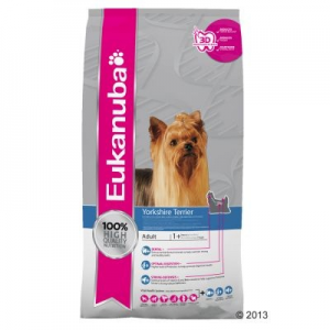 Eukanuba Breed Yorkshire Terrier - 3 x 2 kg