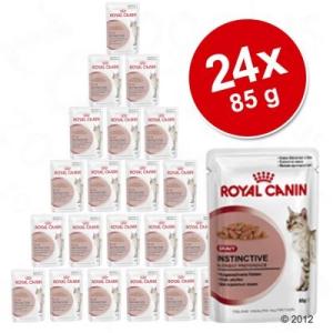 Royal Canin - gazdaságos csomag 24 x 85 g - Instinctive, szószban