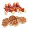 Zooplus Cookie's Delikatess halas változatok 200 g - Tőkehal csíkok csirkefilével