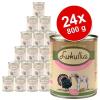 Lukullus Junior óriáscsomag 24 x 800 g - Csirke- és borjúhúsos