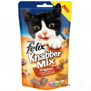 Purina KnabberMix falatok - Three cheeses (60 g)