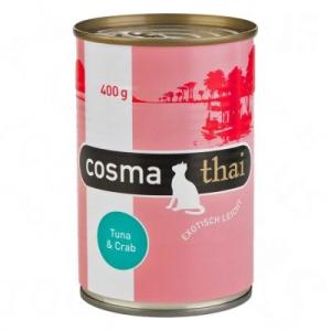 Cosma Thai zselés 6 x 400 g - Csirke tonhallal