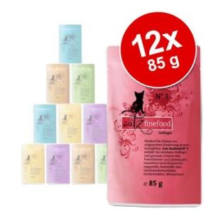 catz finefood vegyes csomag 12 x 85 g - tasakos macskatáp - II. vegyes csomag