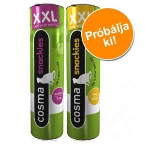 Cosma Snackies XXL - vegyes próbacsomag - 55 g, 2 különböző változatban