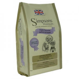 Simpsons Premium Sensitive Puppy Salmon & Potato - 12kg