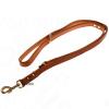 Heim Buffalo kutyapóráz, konyakszínű - 200 cm hosszú, 1.8 cm széles
