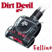 Dirt Devil Fellino mini állatszőr turbókefe - pót kefe