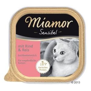 Miamor Sensible 6 x 100 g - Marhahús & rizs