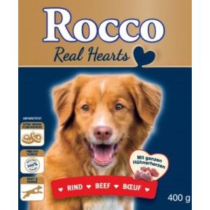 Rocco Akciós csomag: Rocco Real Hearts 24 x 400 g - Marha