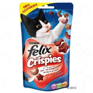 FELIX Crispies - Marha- és csirkehús (3 x 45 g)