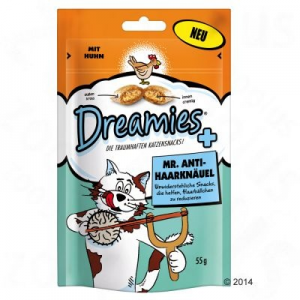 Dreamies macskasnack - Mr. Anti-gombolyag - 6 x 55 g