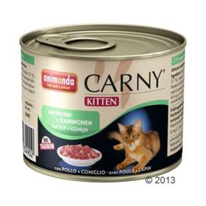 Animonda Kitten 6 x 200 g - Csirkehúsos és nyúlhúsost