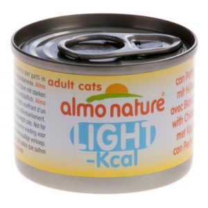 Almo Nature Light 6 x 50 g - Skip Jack tonhalas