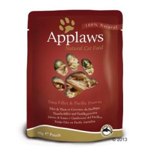 Applaws vegyes csomag 12 x 70 g - Tonhalas & tengeri aranyosfejűhalas