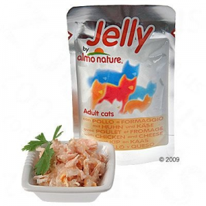 Almo Nature Jelly 6 x 70 g - Csirkehúsos