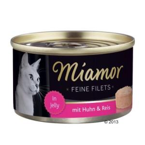 Finnern Fine filék 6 x 100 g - Fehér tonhalas rizzsel