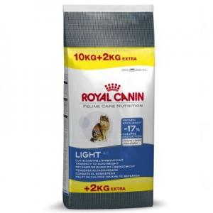 Royal Canin Feline 10 kg + 2 kg macskaeledel - Light 40