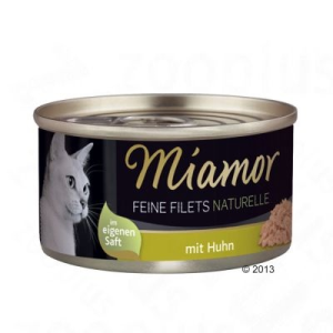 Finnern Feine Filets Naturelle 6 x 80 g - Tonhalas garnélarákkal