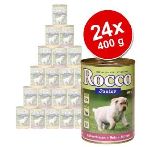 MATINA Junior óriáscsomag 24 x 400 g - szárnyas & vad & rizs + kalcium