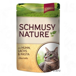 Finnern Nature tasakos 12 x 100 g - Kitten: borjú, szárnyas, tészta & útifű maghéj