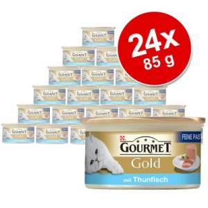Purina Gold Pâté Recipes, 24 x 85g - Kacsahús és spenót