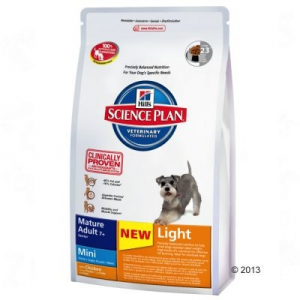 Hill's Canine Mature Adult Light 7+ Mini csirkés - 2,5 kg