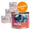 MATINA Vegyes próbacsomag: Smilla baromfis -  6 x 200 g 4 különböző ízváltozat