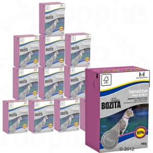 Bozita Feline Tetrapack 12 x 190 g - Hair & Skin - Sensitive