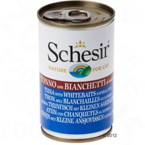 Schesir 6 x 140 g - Csirkehús filés sonkával