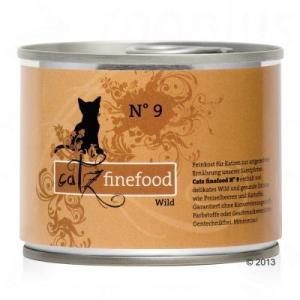 catz finefood 6 x 200 g - nedves macskatáp - Csirke és fácán