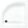 Sanotechnik Cikkszám: 361100 Silba 90x90 íves zuhanytálca