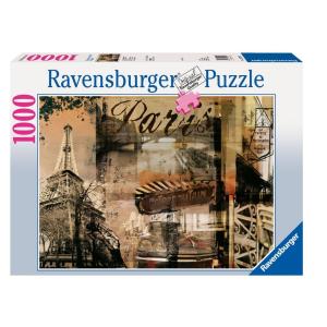 Ravensburger Ravensburger 1000 db-os puzzle - Nosztalgikus Párizs (15729)