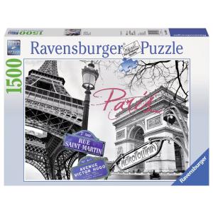 Ravensburger Ravensburger 1500 db-os puzzle - Szerelmem, Párizs (16296)