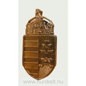 Arany színű címer mandzsetta gomb 1 pár