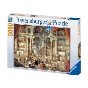 Ravensburger Ravensburger 5000 db-os puzzle - Képgaléria kilátással a modern Rómára (17409)