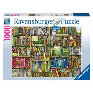 Ravensburger Ravensburger 1000 db-os puzzle - Varázslatos könyvespolc (19137)